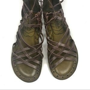 c41b1c18c60 Mia Shoes Shoes - Mia Heritage Lenora Gladiator Sandals Dark Brown